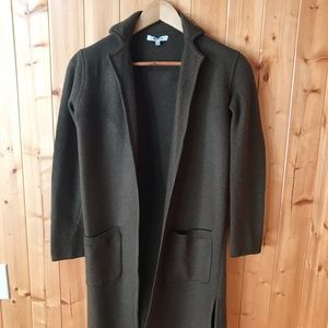 Madewell Duster / Size: XXS / Olive